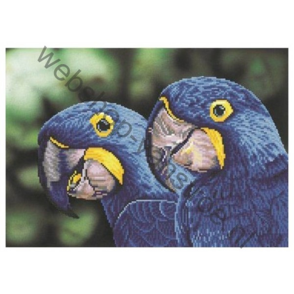 Diamond painting Blue Hyacinth Macaws