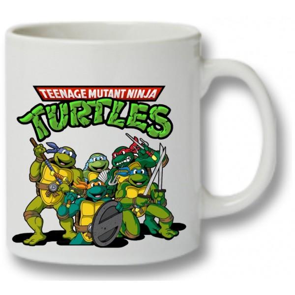 Mok met de stoere Turtles