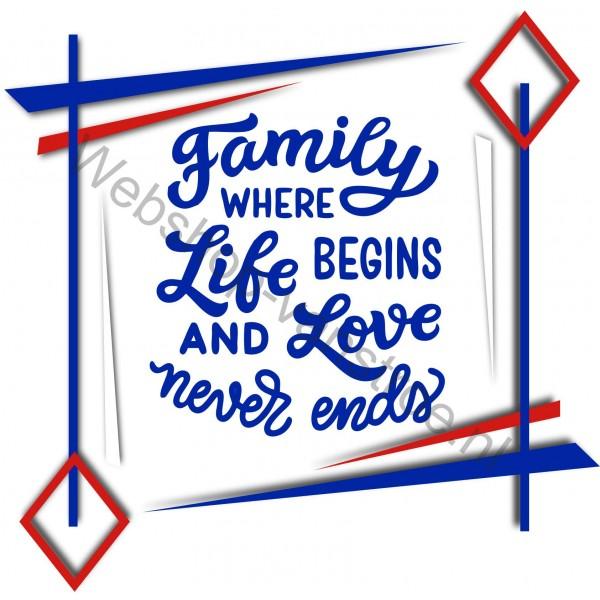 Tegeltje Family